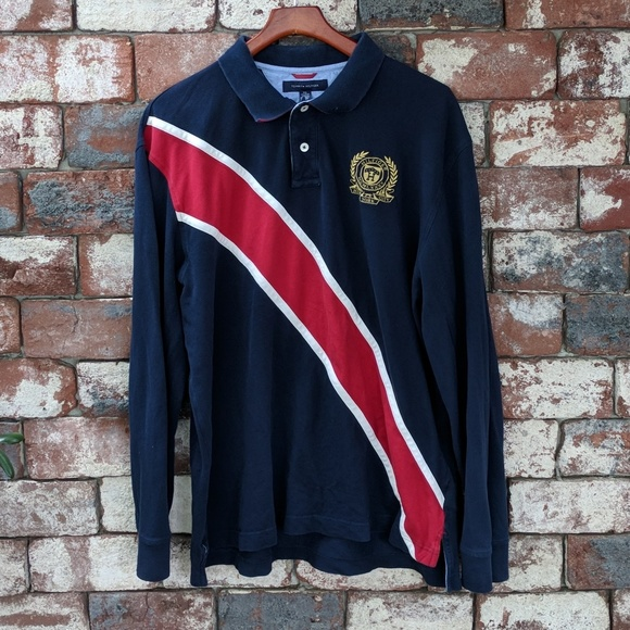 f96945976eb Tommy Hilfiger Shirts   Vintage Rugby Shirt   Poshmark